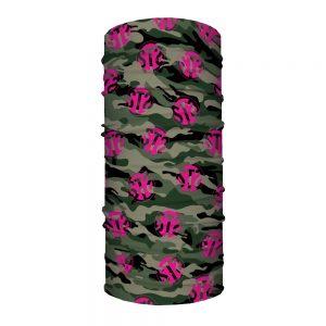 Face Shield Camo & Pink