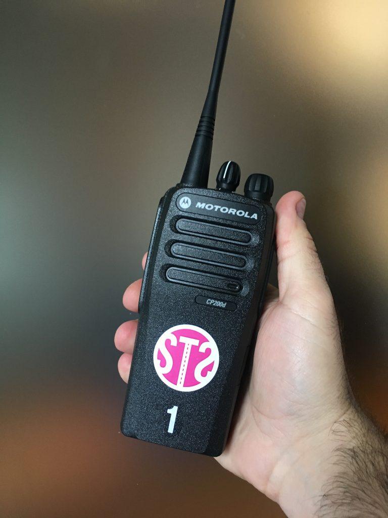 Motorola CP200d Portable Radios