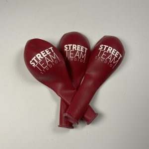 Street Team Balloons