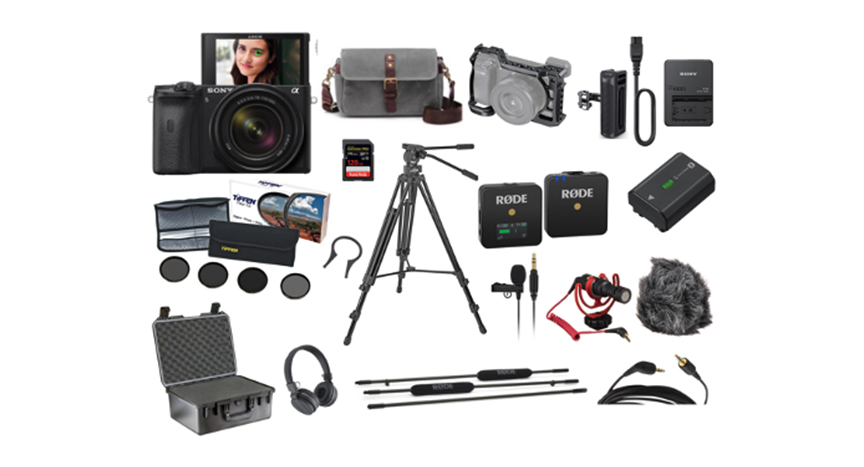 Sony a6600 Camera Package Kit Rental NYC