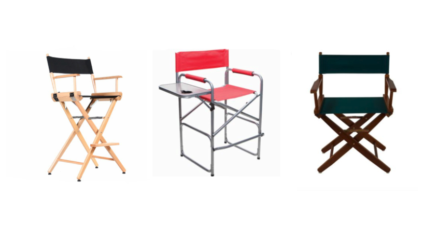 Indoor & Outdoor Director Chairs