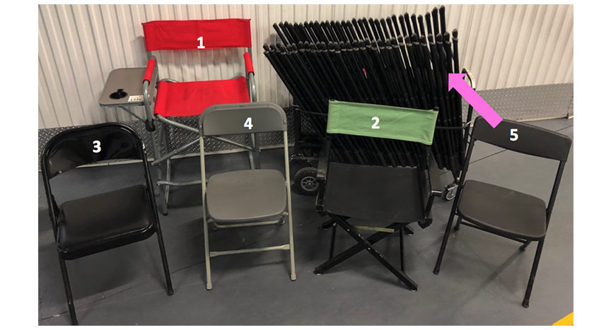 Folding Chairs & Director Chairs