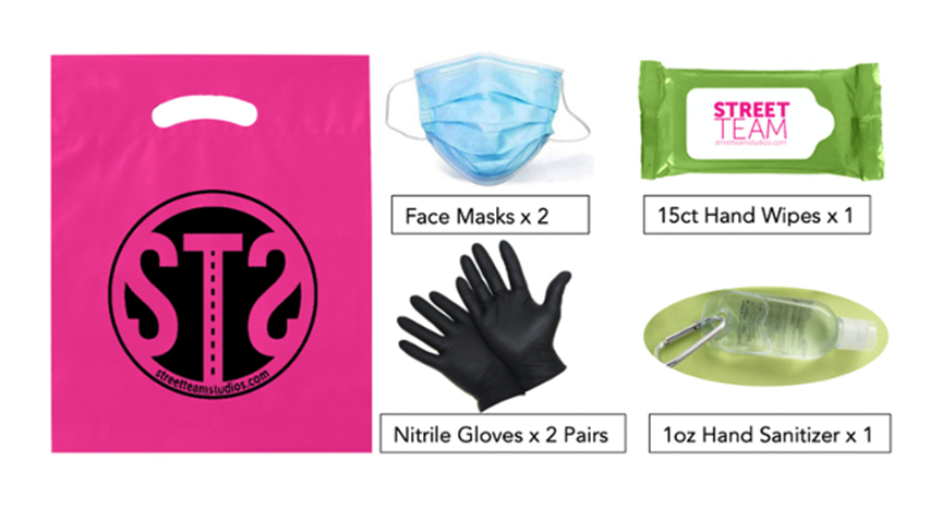 PPE Kits for Productions & Events