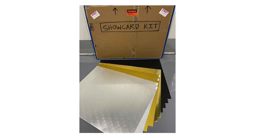 Show Card Kit