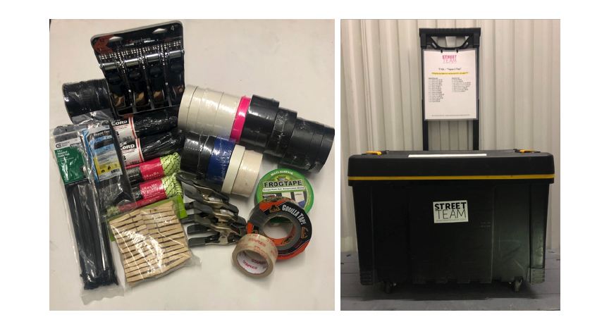 "Production TT Kit ""Tape & Ties"" New York City"